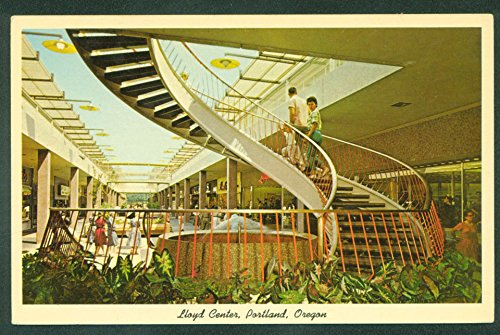 Lloyd Center Portland Oregon Mall Shopping Center 1970's Vintage - Shopping Lloyd Center