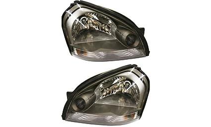 amazon com fits hyundai tucson 05 06 07 08 09 head light with bulb