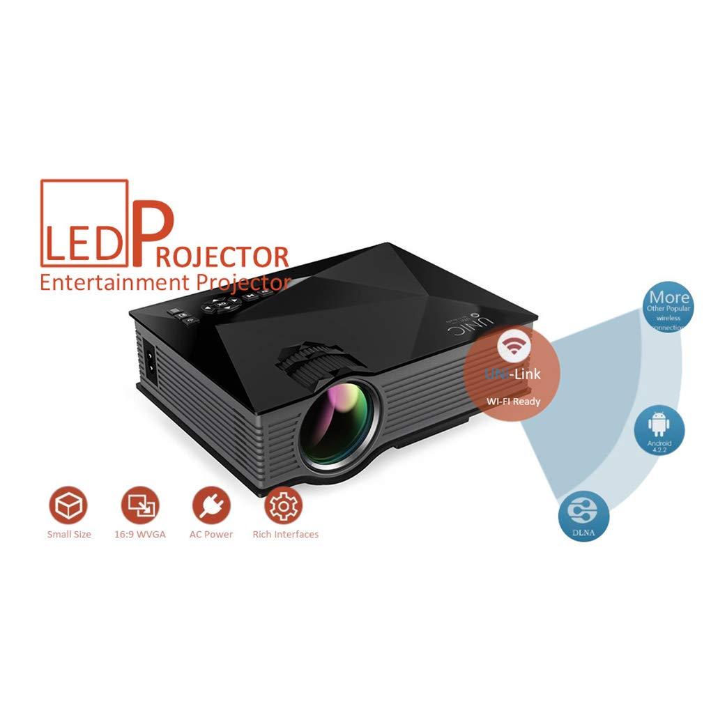 Bodbii Unic UC46 - Mini proyector Multimedia LED HD 1080P con WiFi ...