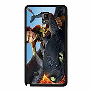 Cover Shell Cartoon Movie How To Train Your Dragon Phone Case for Samsung Galaxy Note 4 Fantastic Hiccup Anime Classical