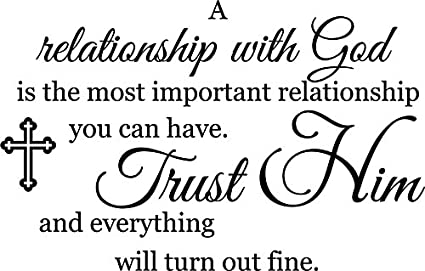 Amazoncom Newclew A Relationship With God Is The Most Important