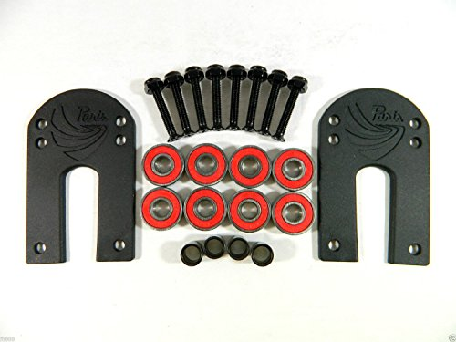 Paris 1/8'' Riser Pad + ABEC 7 Bearings + Spacers + 1.25'' Hardware by Paris