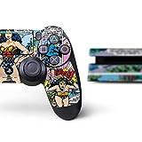 DC Comics Wonder Woman PS4 Slim Bundle Skin - Wonder Woman Comic Blast