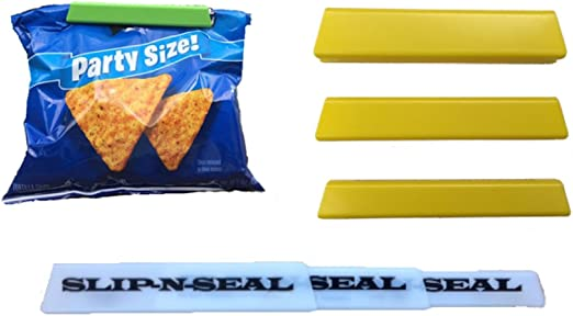 Sealapack 6 Bag Clips Food Fresh Reusable Kitchen Home Sealed Bag Bread Cereal