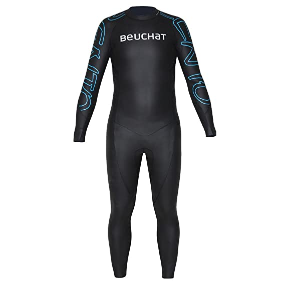 Amazon.com: Beuchat Zento Full Wetsuit Smooth Skin 2mm ...
