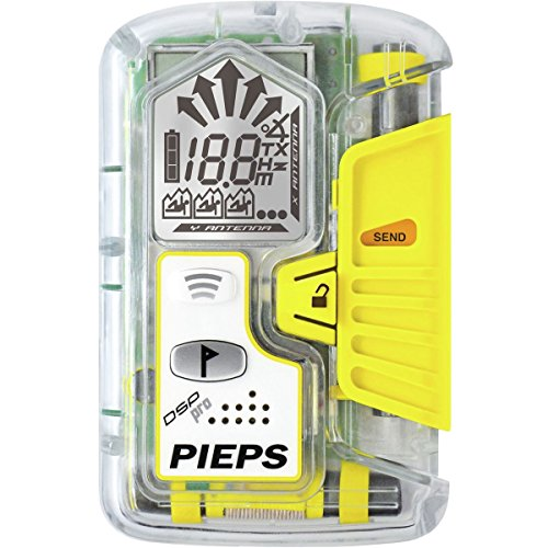 PIEPS DSP Ice Avalanche Beacon Clear White One Size Pieps Avalanche Transceiver