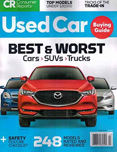 Consumer Reports Used Car Buying Guide Magazine