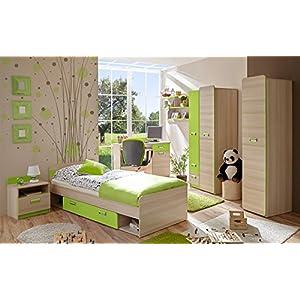 komplett jugendzimmer bettmix. Black Bedroom Furniture Sets. Home Design Ideas