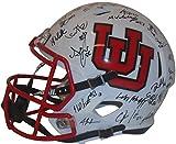 2016 University of Utah Utes Team Autographed Hand