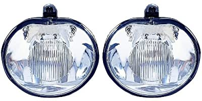 Jeep Grand cherokee Replacement Fog Light Assembly - 1-Pair