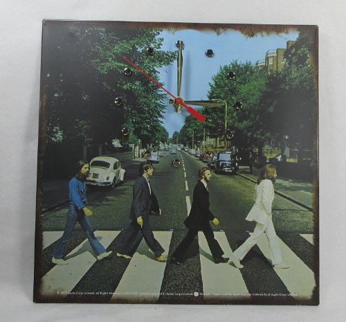 The BEATLES Recycled Album Cover Art Wall Clock -