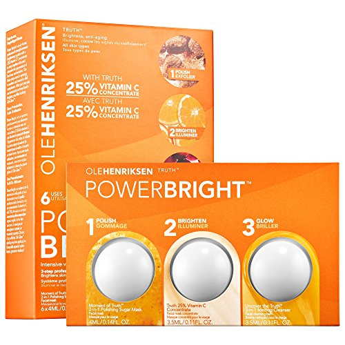 OLEHENRIKSEN Ole Henriksen Power Bright 3-Step Professional Brightening System (6 treatments)