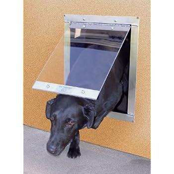 Amazon Easy Pet Door Flap Pet Doors Pet Supplies