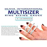 OLIVIA International Multi Sizer 3-In-1 Ring Sizer Gaug