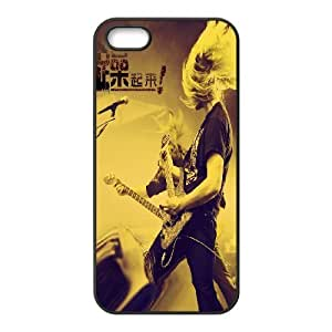 C-Y-F-CASE DIY Design Rock and Roll Pattern Phone Case For iPhone 5,5S