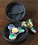 STRESS SPINNER Colorful Camo Fidget Tri Hand Spinning Finger Toy Stocking ...