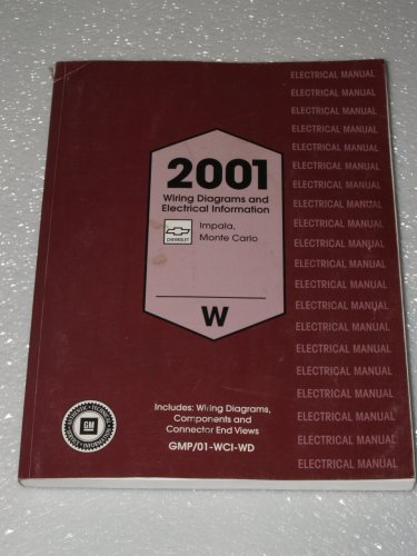 2001 Chevrolet Impala, Monte Carlo Wiring Diagrams and Electrical Information