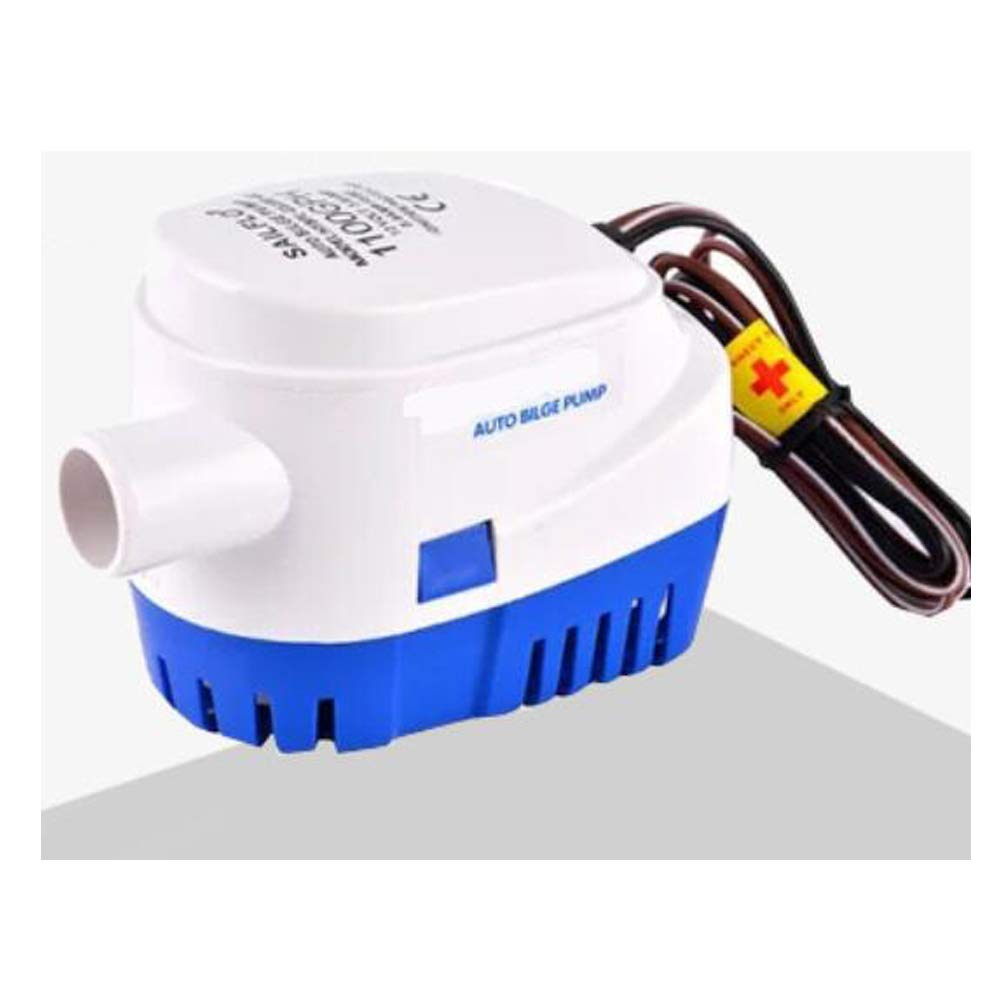 12V Automatic Bilge Pump Water Pump Bilge Pump WithFloat Switch 750GPH by Q-BAIHE