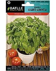 Battle - Semi Aromatici Basilico Gigante Genovesa (Semi - 20-40Cm)