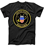 United States Space Force USSF Classic Logo T-Shirt Black XL