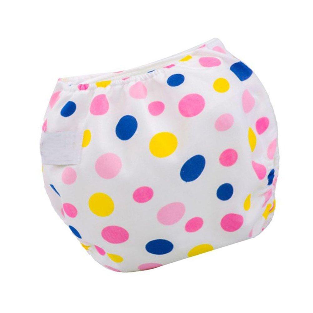 YeahiBaby Couches lavables R/éutilisables bebe Couches Culottes en tissu pour enfants