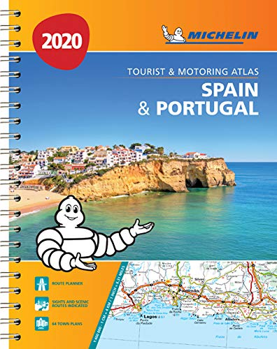Spain & Portugal 2020 - Tourist and Motoring Atlas A4-Spira ...