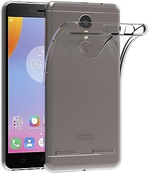 ivoler Funda Carcasa Gel Transparente para Lenovo K6, Ultra Fina 0,33mm, Silicona TPU de Alta Resistencia y Flexibilidad: Amazon.es: Electrónica