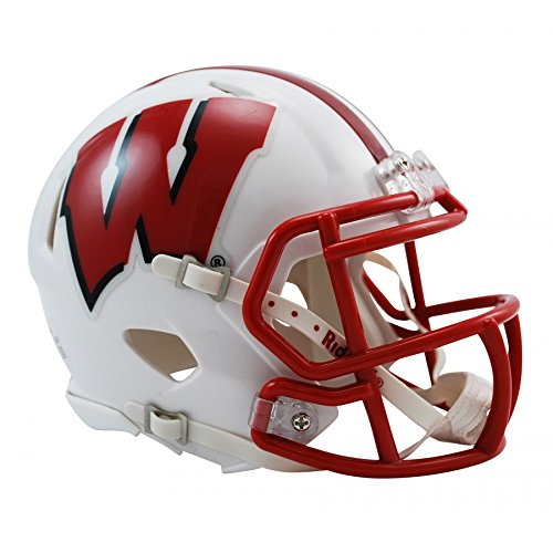 Riddell NCAA Wisconsin Badgers Speed Mini Football Helmet (Riddell Wisconsin Badgers Replica Helmet)