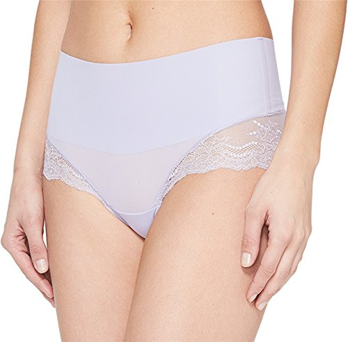 (SPANX Women's Undie-Tectable Lace Hi-Hipster Panty French Lavendar Small)