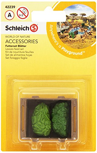 (Schleich Leaves Feed Set)
