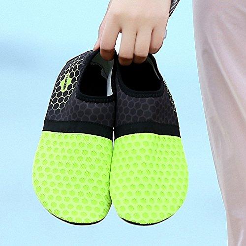 Yoga on Shoes Swim Surf Dive Slip Aqua B ZHENZHONG Sneakers Mens Womens Green Shoes Sports Water Beach qwgRO