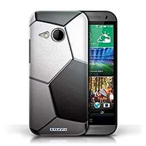 KOBALT? Protective Hard Back Phone Case / Cover for HTC One/1 Mini 2 | Football/Soccer Design | Sports Balls Collection