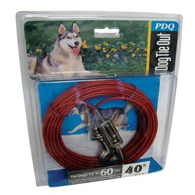 Boss Pet Products Q3540 SPG 99 Cable Dog Tie Out 40' Large by Boss Pet Products