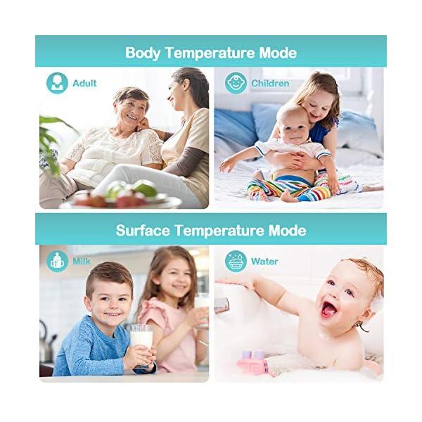 Termometro Infrarossi Termometro Digitale Allarme Temperatura Elevata Multifunzione 4 In 1 (1) 5