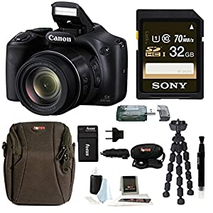 Canon Powershot SX530 HS Camera with 32GB Deluxe Accessory Kit