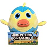 "Electronic Talking Plush, Get Kids Moving with Frantic Party Games like ""Egg Toss"", Fuzzy Flyers"