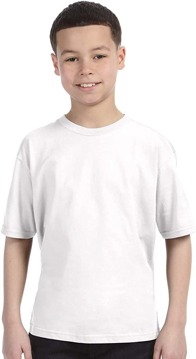 White Anvil Youth Fashion-Fit Tee S