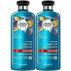HerbalEssencesBiorenew Argan Oil of Morocco Repair Shampoo, 13.5 Fl Oz (Pack of 2)