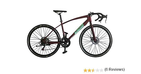 Helliot Bikes Ruzafa 02 Bicicleta de Carretera Urbana, Adultos Unisex, Verde, Talla única: Amazon.es: Deportes y aire libre