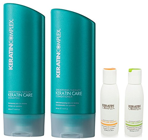 Keratin Complex Keratin Care Shampoo n Conditioner 13.5 Ounces and Travel Set