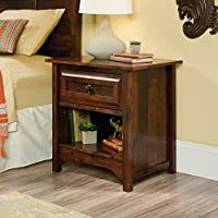 Sauder Viabella Nightstand in Curado Cherry