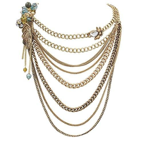 Jane Stone Glaring Vintage Necklace