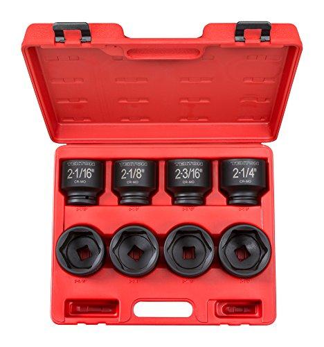 TEKTON 3/4-Inch Drive Shallow Impact Socket Set, Inch, Cr-Mo