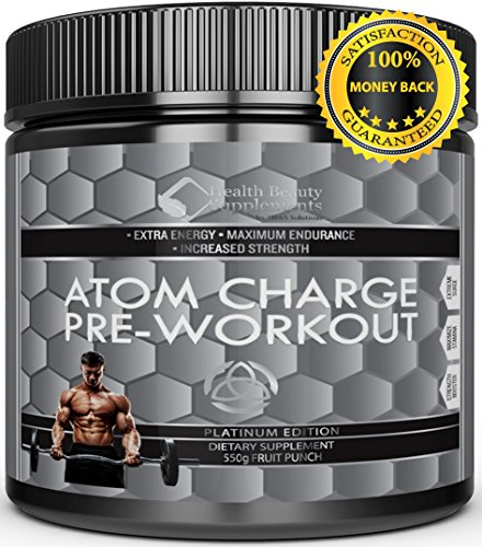 Extreme Anabolic Pre Workout   With Di Creatine  The Best  Most Potent Pre Workout Supplement For Building Muscle Mass   Advanced Bio Release Powder For Up To 2X Faster Release   550 G Fruit Punch