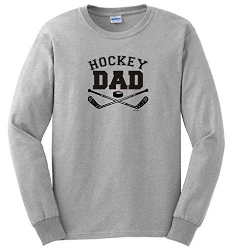 Hockey Dad Long Sleeve T-Shirt XL Ash