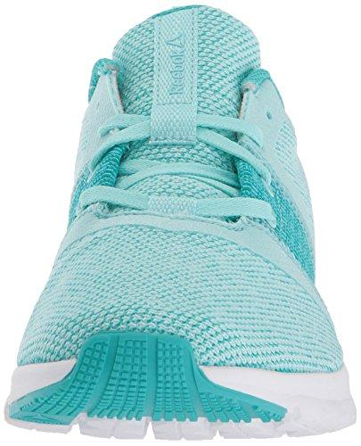 Reebok Womens Print Lite Rush Gr Sneaker Gr - Blå Lagunen / Fast Kricka / Vit