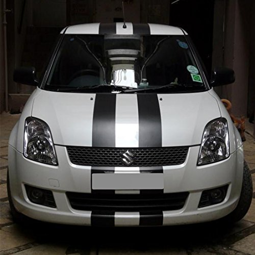 Suzuki Swift Sport: Decal Sticker Vinyl Body Racing Stripe Kit Compatible With