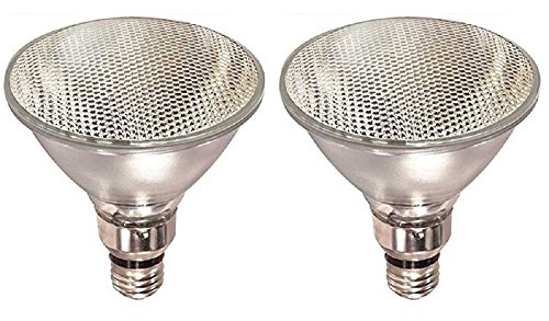 Pack Of 2 70PAR38/FL 120V 70 Watt High Output (90W Replacement) PAR38 Flood 120 Volt Halogen Par 38 Light Bulbs