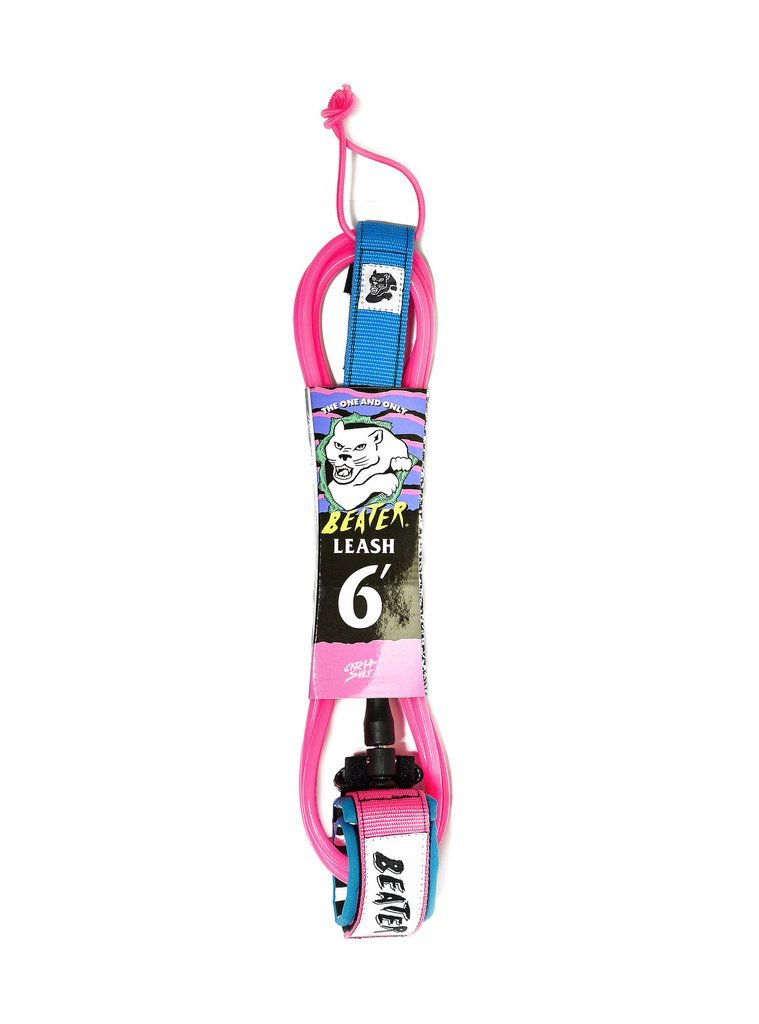 Catch Surf Beater 6' Leash, Pink/Blue by Catch Surf (Image #1)