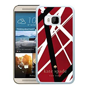 Abstract Design HTC ONE M9 Case, Kate Spade 83 White Custom HTC ONE M9 Phone Case